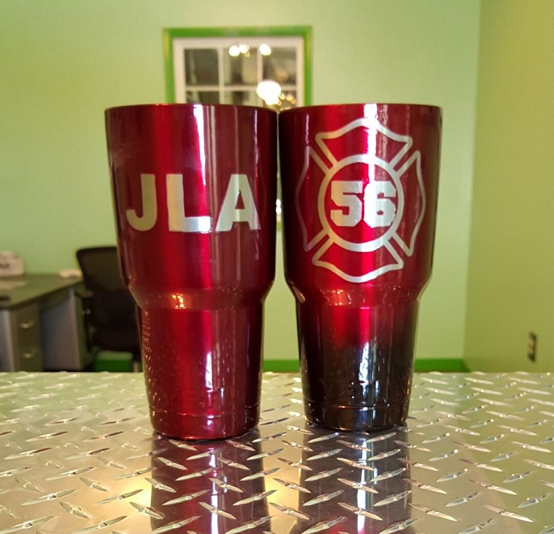 Fire Department Cups