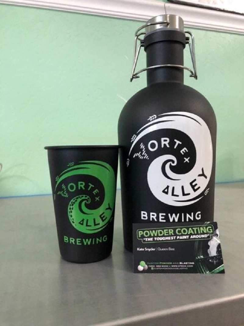 Vortex Growler and Cup