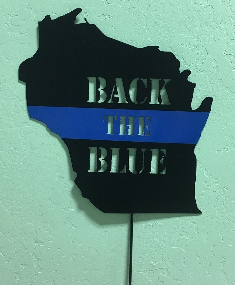 Back the Blue Wisconsin