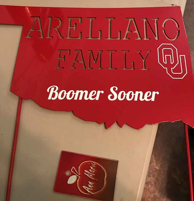Boomer Sooner Sign