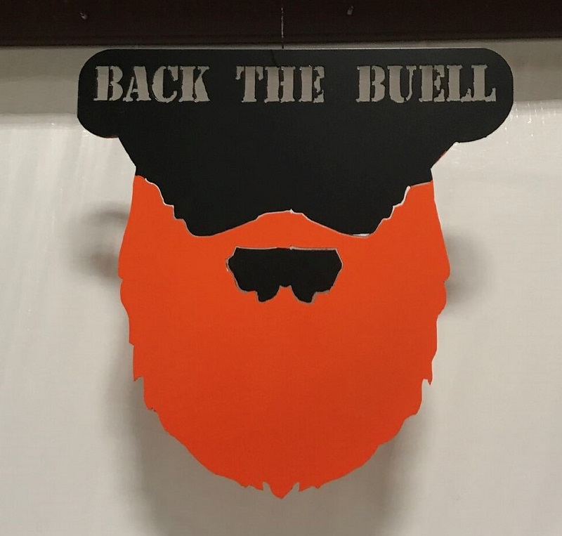Back the Buell Sign