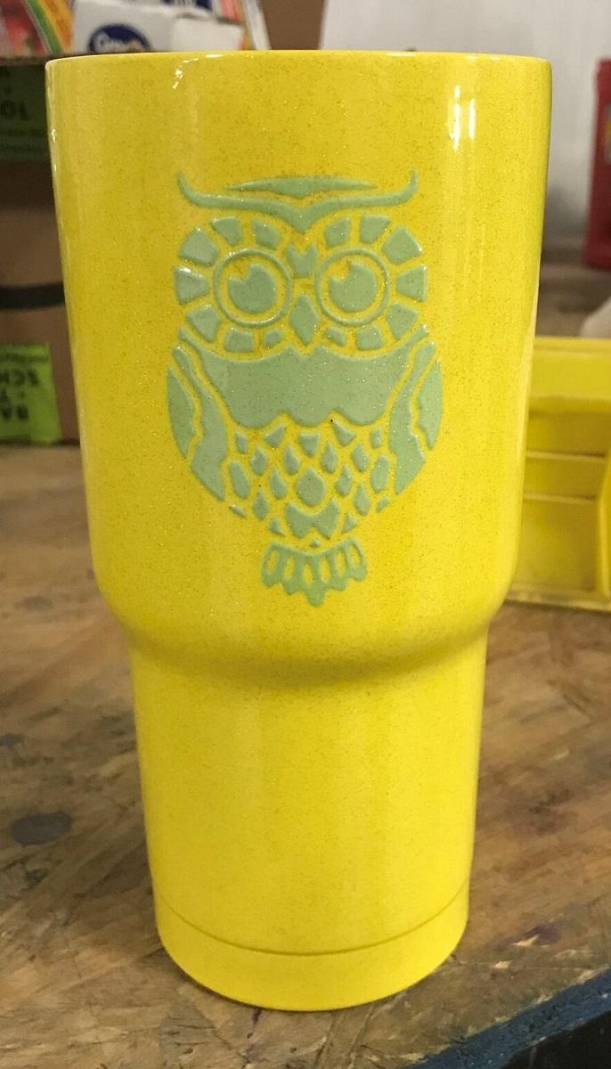 Custom Owl Cup