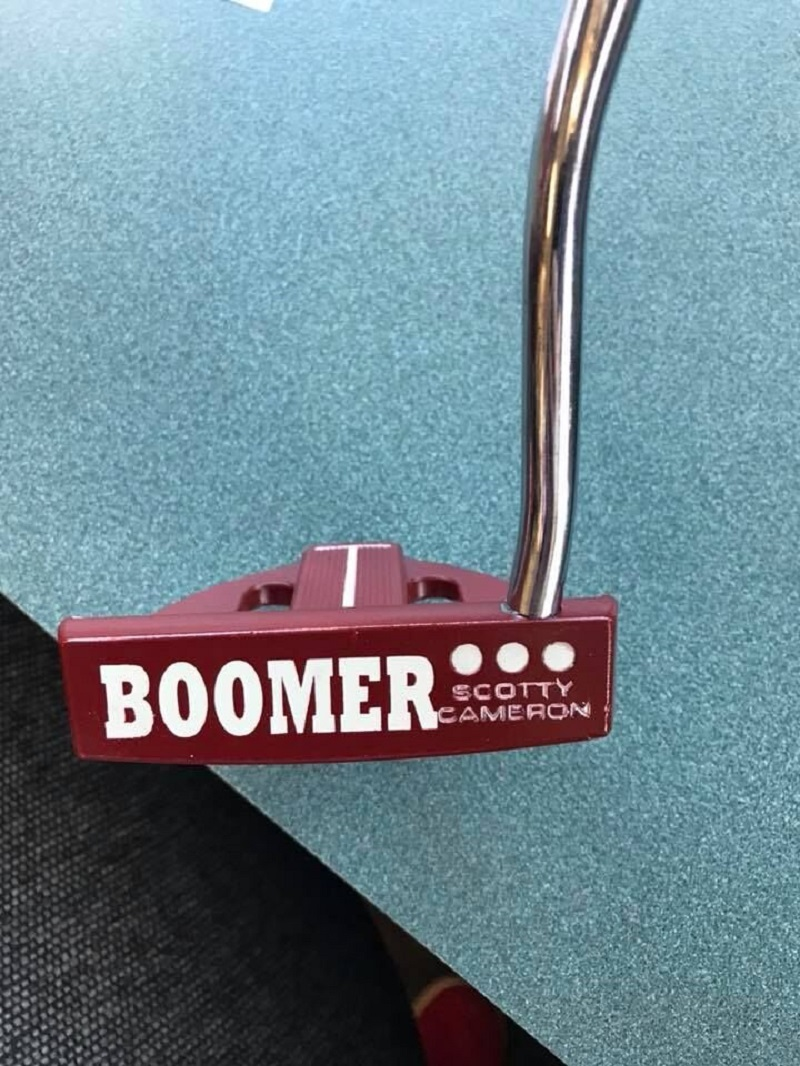 Cerakote Coating Boomer Sooner Golf Club