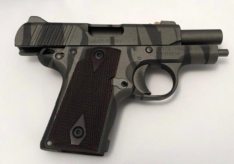 Tiger Stripe Cerakote Coating pistol Gun